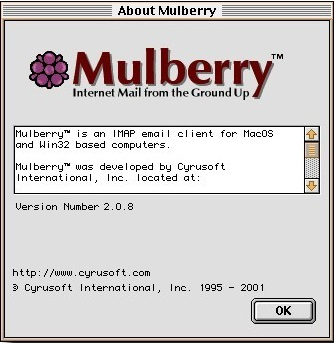 what is mulberry email client